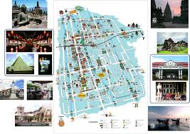 The Map Of Yogyakarta