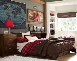 Guys Bedroom Decor Stunning Ideas Exposed Brick Wall