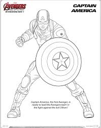 Avengers Age Of Ultron Coloring Sheets Trailer My Boys And Captain America Page With Pages Civil War
