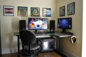 ikea gaming desk ideas battlestation with bekant corner right
