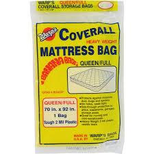 """Warps CB 70 70"""" x 92"""" Queen or Full Banana Bags Mattress Bag"""