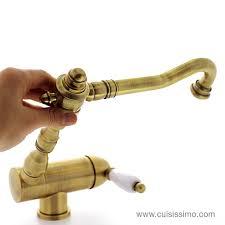 robinet pour evier cuisine robinet cuisine rabattable robinet cuisine retro