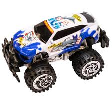 100 Mini Monster Trucks Amazoncom TukTek Kids First Friction Powered Super Shark Jacked Up