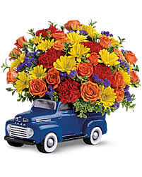 Telefloras 48 Ford Pickup Bouquet Flower Arrangement