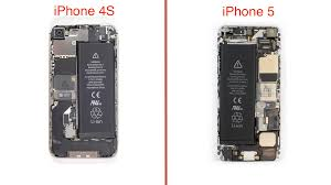 iPhone 5 teardown Redesigned case and interior simplify repairs