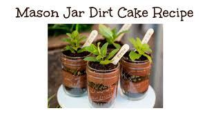 Dirt Cake In Mason Jars