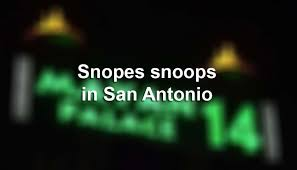 snopes snoops in s a san antonio express news