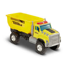 100 Tonka Fire Rescue Truck MIGHTY FLEET Drop Bin Dump