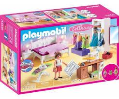 playmobil dollhouse schlafzimmer mit nähecke 70208 ab 14