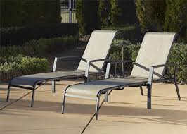 Amazon Patio Lounge Cushions by Amazon Com Cosco Outdoor Adjustable Aluminum Chaise Lounge Chair