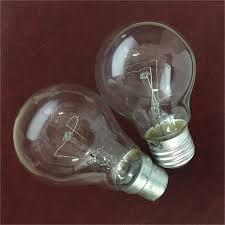 market a60 clear incandescent bulb 220v 25w b22 e27