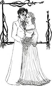 Harry Potter Coloring Pages Mr And Mrs By Indianadelae On DeviantArt
