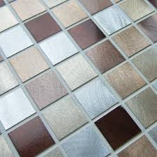 Iridescent Mosaic Tiles Uk by Bronze Mosaic 30 X 30 Cm Mosaic Village
