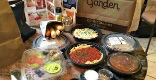 Olive Garden 4 Entrees 2 Salads Soups Breadsticks AND Dessert