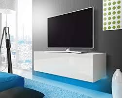 fernsehschrank tv lowboard mit led modern hängend 140