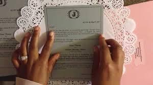 DIY Doily Wedding Invitation Directions