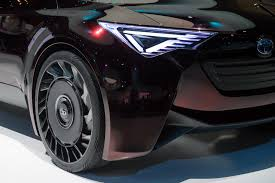 Toyota Explores Airless Tires To Build Lighter Electric Vehicles ... Tire Wikipedia Michelin X Tweel Turf Airless Radial Now Available Tires For Sale Used Items For Sale Electric Skateboard Michelin Putting Tweel Into Production Spare Need On Airless Shitty_car_mods Turf Tires A Time And Sanity Saving Solution Toyota Looks To Boost Electric Vehicle Performance Tesla Model 3 Stock Reportedly Be Supplied By Hankook Expands Line Take Closer Look At Those Cool Futuristic Buggies In Westworld Amazoncom Marathon 4103506 Flat Free Hand Truckall Purpose Why Are A Bad Idea Depaula Chevrolet Blog