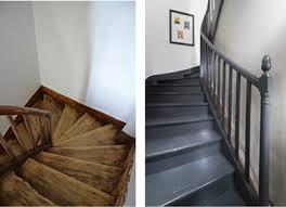 peindre un escalier sans poncer peindre un escalier en bois avec la peinture rénovation v33 v33