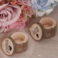 2018 Romantic Rustic Style Wedding Ring Box His And Hers Wood Exquisite Supplies Wooden From Timelesszeng 704