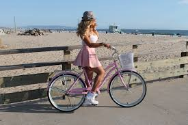 Cotton Candy PINK Beach Cruiser Bicycle
