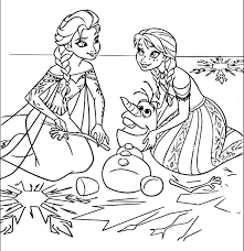 Exploit Anna And Elsa Coloring Pages Online For Girls Frozen Faba