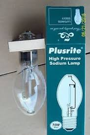 plusrite 70w 70 watt e39 high pressure sodium l clear light