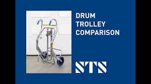 100 Drum Hand Truck STS Trolley Comparison Ling Equipment
