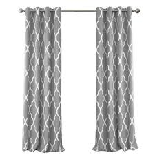 White And Gray Blackout Curtains by Blackout Juvenile Teen Or Tween Gray Blackout Room Darkening