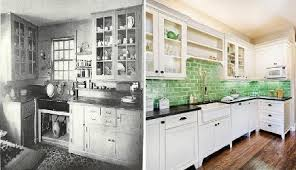 Lovely Kitchens 1920 2010 1920s Kitchen And Current Style Via Atticmag