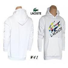 siege social lacoste lacoste siege social homme hoodie blanc couleur