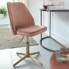 details zu finebuy drehstuhl rosa samt drehbar küchenstuhl modern schalenstuhl esszimmer