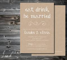 Custom Rustic Rehearsal Dinner Invitation 5x7 By LoahDesign 2000