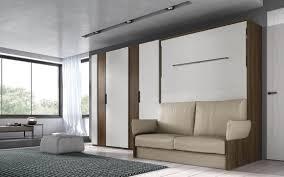 bett im schrank mit sofa c 044