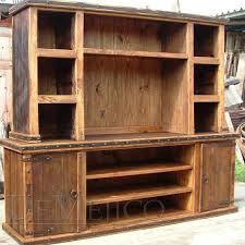 Wooden Entertainment Center Shock Rustic Catalog Mexican Living Room Furniture Kitchen Ideas