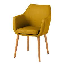 esszimmerstühle in gelb stühle fürs esszimmer kaufen home24