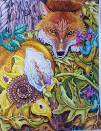 The Fox Color Me Your Way Illustrated By Pam Smart Colored Lynn Corbin
