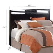 Value City Furniture Metal Headboards by Bally Queen Headboard Black Value City Furniture