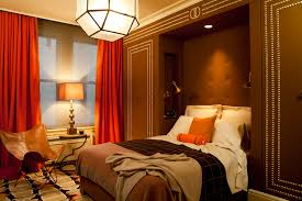 Orange And Brown Bedroom Ideas Photo 4