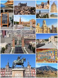 Download Spain Travel Stock Image Of Cityscape Malaga