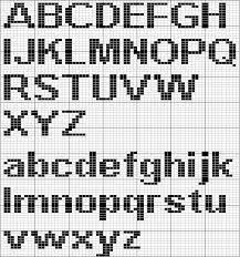 Use These Handy Alphabet Charts for Knitting Words or Monograms