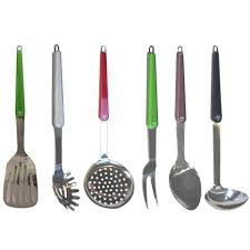 ustensile cuisine inox accessoires de cuisine laguiole inox et polyamide
