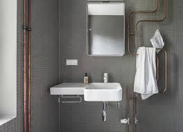 an grau führt derzeit kein weg vorbei auch im badezimmer