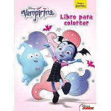 Vampirina Libro Para Colorear
