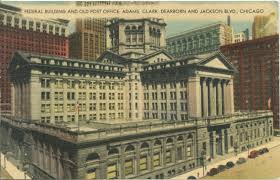 Government – Federal Buildings – Chicago History In Postcards