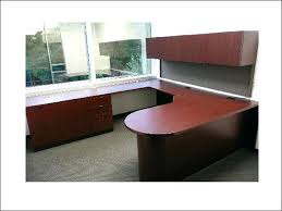 Ameriwood L Shaped Desk Canada by Picturesque U Shaped Desk Design Secondhand L With Hutch Office