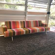 100 Missoni Sydney Columbia Four Seat Sofa By Norman Quaine In Fabric