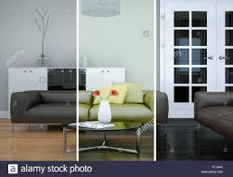 100 Modern Loft Interior Design Splitted Color Variations Of A Modern Loft Interior Design