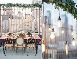 Rooftop Wedding Reception Ideas