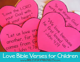 Heart Verses 1 Page 2 This Is A Printable Bible Verse Pocket For Children To Store Their Hearts There Also Place Keep Track