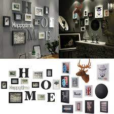 photo frame set 10 pcs picture collage wall decor family